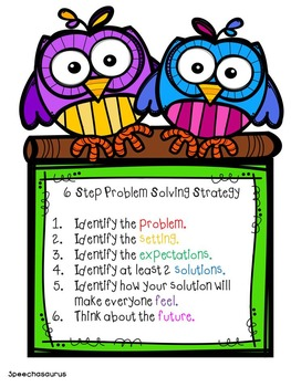Social Problem Solving at School - Journal and Sports Game