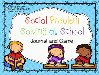 Social Problem Solving at School - Journal and Sports Themed Game