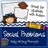 Social Problems Writing Prompts for Students with Special