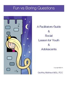 Social Program - Conversation Questions Lesson