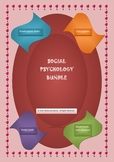 Social Psychology Bundle!!