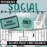Social Psychology Bundle