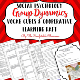 Social Psychology: Group Dynamics Vocabulary Cubes and Cooperative Learning RAFT