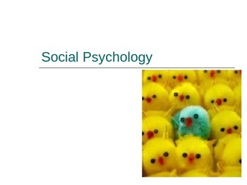 Social Psychology/Science Power Point IB Racism Heuristics