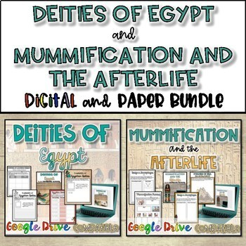 Social Pyramid and Deities of Egypt Bundle
