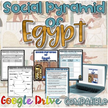 Social Pyramid of Egypt {Digital AND Paper}