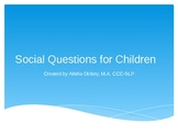 Social Questions for Kids