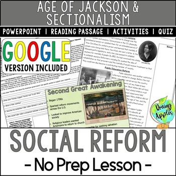 Social Reform Movements of the 19th Century, Second Great Awakening
