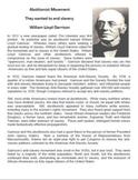 Social Reform Movements of the Jacksonian Era