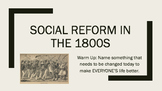 Social Reform in the 1800s Lesson