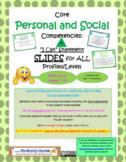 Personal & Social Core Competencies Profiles Slides (New BC Curriculum)