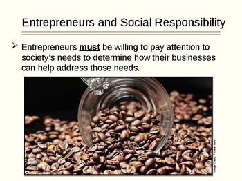 Social Responsibility and Ethics for Entrepreneurship