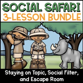 Social Skills Lesson Plan Bundle With Escape Room