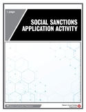 Social Sanctions Application Activity