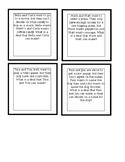 Social Scenario Cards