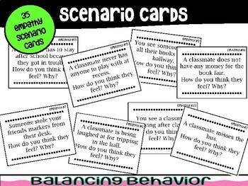 Social Scenario Cards: Empathy