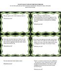 Social Scenario Cards - HIGH SCHOOL