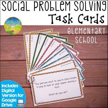 Social Problem Solving Task Cards