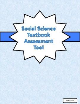 Social Science/Social Studies Textbook Assessment Tool