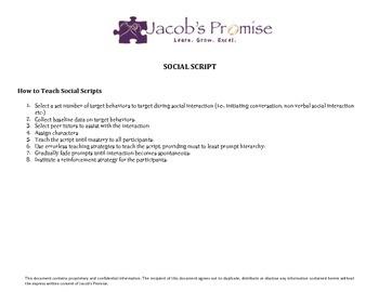 Sample Social Script
