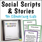 Social Scripts and Stories