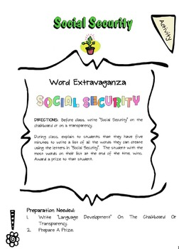 Social Security Lesson