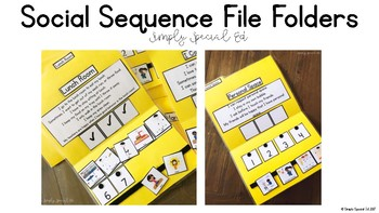 Social Sequencing File Folders