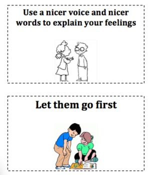 Social Situation Solution Cards