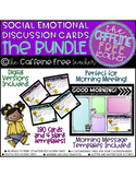 Social Situation and Empathy Skills Task Card BUNDLE- Great for Morning Meeting!