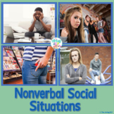 Teen Social Skills Nonverbal Language 2 {Real Photos and No Prep}