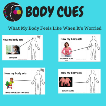 Social Skill: Anxiety: Body cues What my body feels like when worried