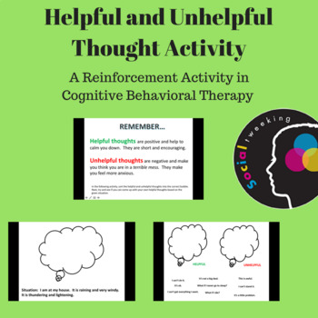 Social Skill; CBT Anxiety Teaching; Helpful and Unhelpful Thought Activity