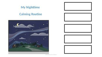 Social Skill; Calming down; Calm routine, nighttime and school