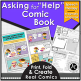Asking for Help Speech Therapy and Pragmatic Skills Activities
