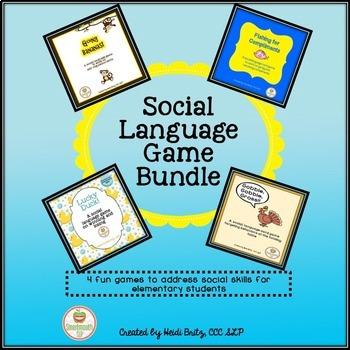 Social Skills Games Bundle