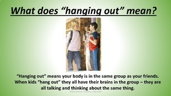 Social Skill : Hanging out with friends