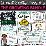 Social Skills Lessons: Growing Bundle