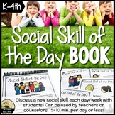 Social Skills Lesson of the Day Book