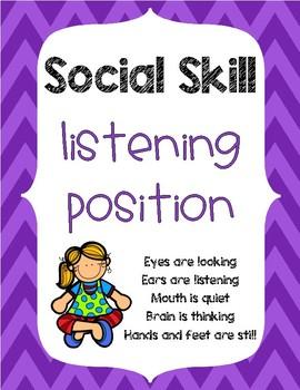 Social Skill: Listening Position