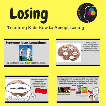 Social Skill:  Losing; How to accept losing