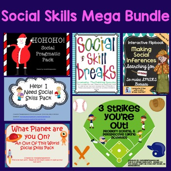 Social Skill Mega Bundle