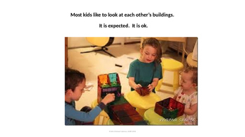 Social Skill: Playing with others; Sharing