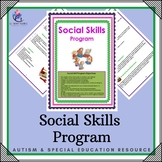 Social Skill Program - 38 Pages - Just Print!