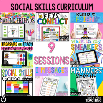 Social Skills Small Group Counseling Curriculum