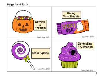 Social Skill Steps: Halloween Version