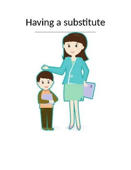 Social Skill Story about substitute teacher