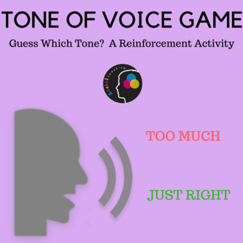 Social Skill; Tone of Voice; Guess which Tone Game