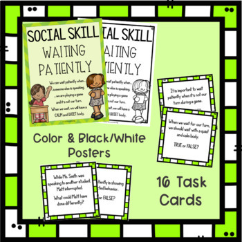 Social Skill Waiting Patiently