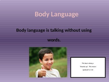 Social Skill : What is body language?