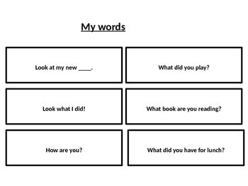 Social Skill Whole Body Listening check and social scripts